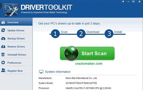 Driver Toolkit Crack + License Key 2021 [Latest]