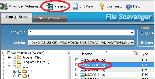 File Scavenger v6.1 Crack + Keygen Download Full Version