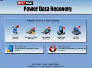 MiniTool Power Data Recovery Crack + Serial Key 2021 Latest