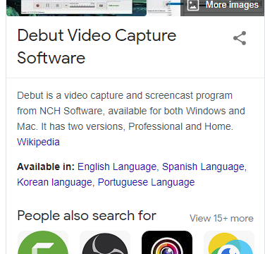 Debut Video Capture 7.11 Crack + Registration Code (Full)