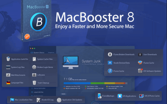 MacBooster 8.0.5 Crack With License Key Free Download