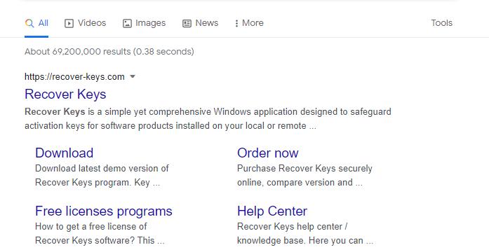 Recover Keys Crack With License Key Download (32/64-bit)